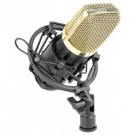 Vonyx - CM650 Microfono de estudio de condensador negro 173.404 1