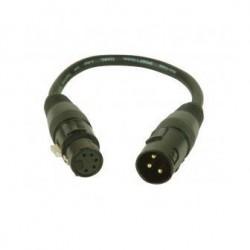 Accu-cable - DMXT/5M3F