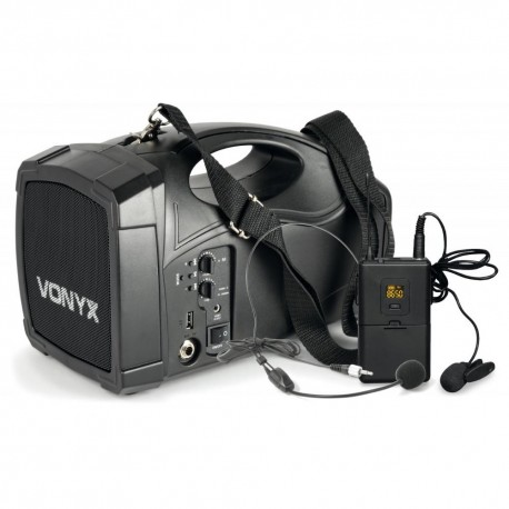 Vonyx - ST012 Megafono con micro inalambrico y bateria 178.870 1