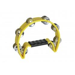 Dimavery - TN-2 Tambourine plastic, yellow 1