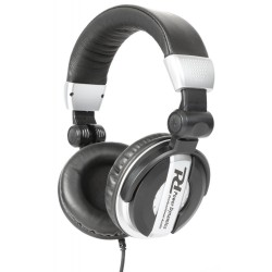 Powerdynamics - PH200 Auriculares DJ Plata 100.875 1