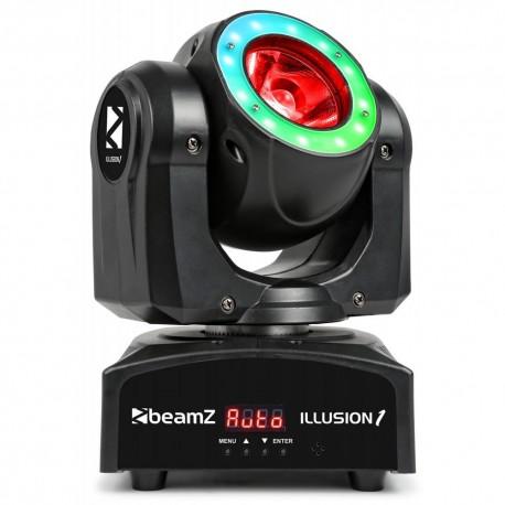 BeamZ - Illusion 1 LED Beam con anillo de LED 150.466 1