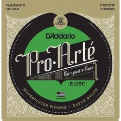 D'addario - EJ25C Composites Flamenco Clear Nylon 1