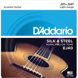 D'addario - EJ40 Silk & Steel [011-047]