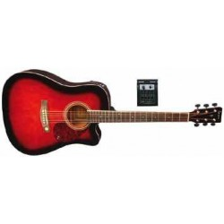 Tenson - GA -10CE Violinburst