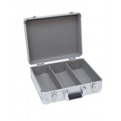 Roadinger - CD Case ALU Digital Booking rounded sil