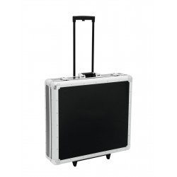 Roadinger - CD Case, black, 200 CDs, with Trolley