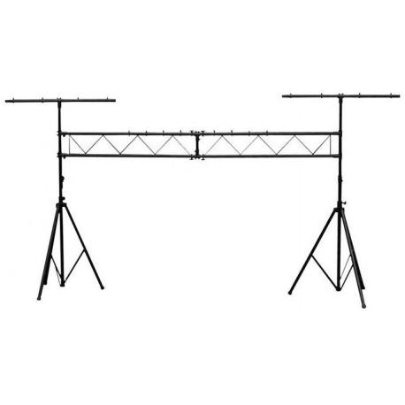 Skytec - Puente de luces con barras en T