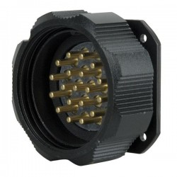 Showtec - Socapex 19 Pin male chassis connector 1
