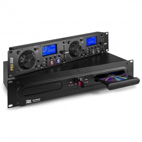 Powerdynamics - PDX350 Doble reproductor CD/MP3/USB 172.715 1