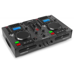 Vonyx - CDJ450 Doble reproductor mezclador sobremesa CD/MP3/USB con Bluetooth  172.805