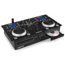 Vonyx - CDJ500 Doble reproductor con amplificador CD/MP3/USB/Bluetooth 172.810