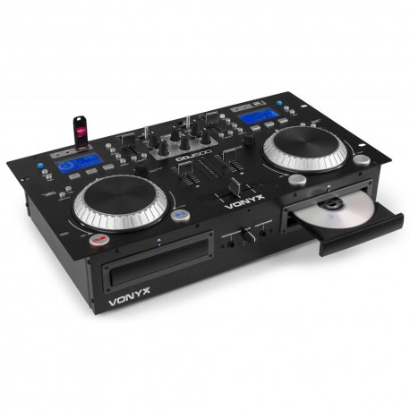 Vonyx - CDJ500 Doble reproductor con amplificador CD/MP3/USB/Bluetooth 172.810 1