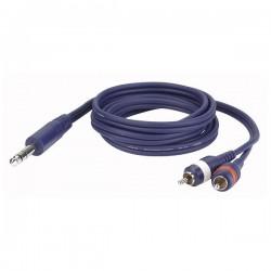 Dap Audio - FL35 - Stereo Jack  > 2 RCA Male L/R