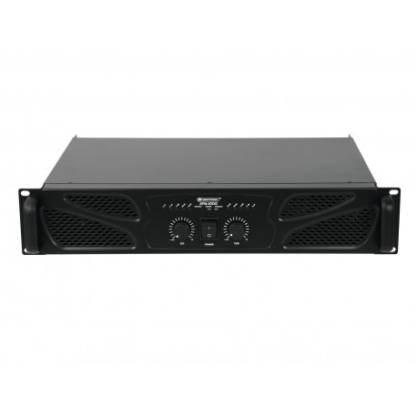 Omnitronic - XPA-1000 Amplifier 1