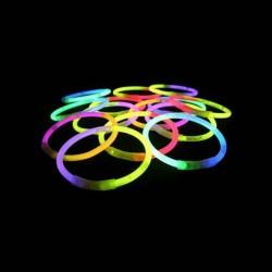 ZB - 100 Pulseras Luminosas Bicolor 0
