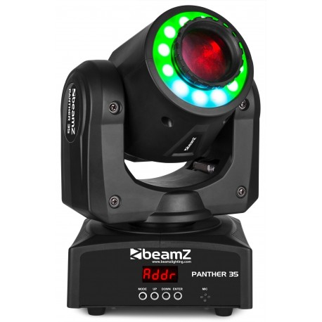 BeamZ - Panther 35 Led Spot Moving Head + L 150.459 0