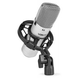 Vonyx - CM400 Studio Condenser Microphone Silver 173.403 1