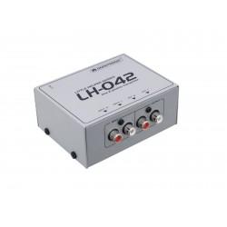 Omnitronic - LH-042 Line/Phono Converter 1