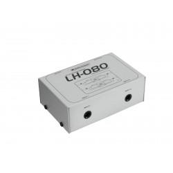 Omnitronic - LH-080 Stereo Isolator TRS 1