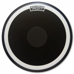 "Aquarian - SKIII20 Superkick 2 capas trans. 20"" Power Dot. Ne"
