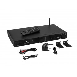 "Omnitronic - TUNA-NET 19"" Internet Radio with DAB+ and Bluetooth 1"