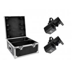 Eurolite - Set 2x LED TSL-200 Scan COB + Case 1