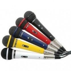 Skytec - Set de 5 micrófonos