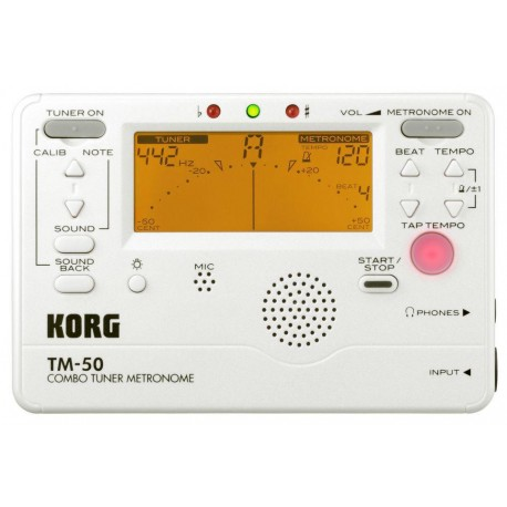Korg - TM-50PW Combo Tuner