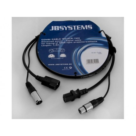 JB systems - COMBI CABLE IEC/XLR 3M