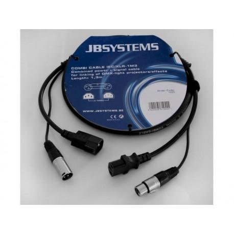 JB systems - COMBI CABLE IEC/XLR 5M
