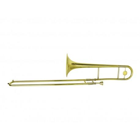Dimavery - TT-300 Bb Tenor Trombone, gold 1