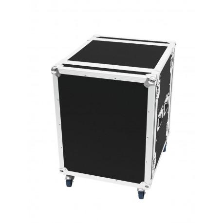 Roadinger - Amplifier Rack PR-2, 14U, 47cm with wheels 1