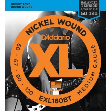 D'addario - EXL160BT BALANCED TENSION MEDIUM [50-120] 1