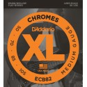 D'addario - ECB82 CHROMES BASS, MEDIUM, LONG SCALE [50-105]