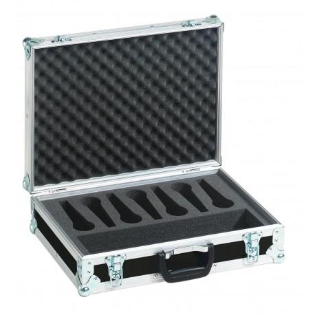 Roadinger - Microphone Case Road 7 Microphones black 1