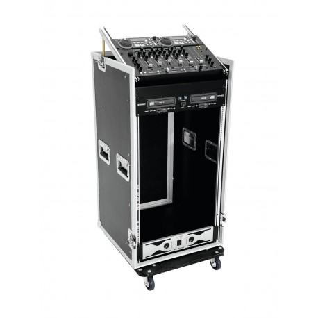 Roadinger - Special Combo Case Pro, 20U with wheels 1