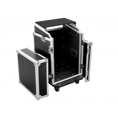 Roadinger - Special Combo Case LS5 Laptop Desk, 14U 1