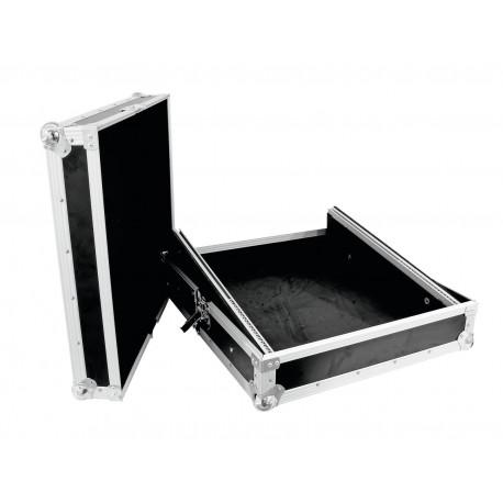 Roadinger - Mixer Case Pro MCB-19, sloping, black 10U 1