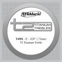 D'addario - T4501 T2 TITANIUM