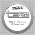 D'addario - T4502 T2 TITANIUM