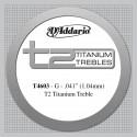 D'addario - T4603 T2 TITANIUM