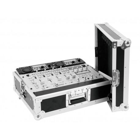 Roadinger - Mixer Case Pro MCV-19, variable, bk 8U 1