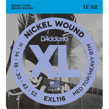 D'addario - EXL116 NIKEL WOUND [011-052] 1