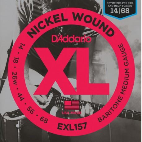 D'addario - EXL157 - XL GUITARRA BARÍTONO [14-68] 1