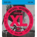 D'addario - EXL145 NICKEL WOUND, HEAVY, PLAIN 3RD [12-54]