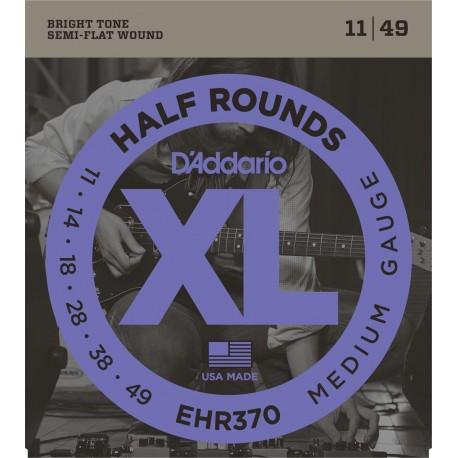 D'addario - EHR370 HALF ROUNDS MEDIUM [11-49] 1