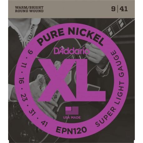 D'addario - EPN120 PURE NICKEL SUPER LIGHT [09-41] 1