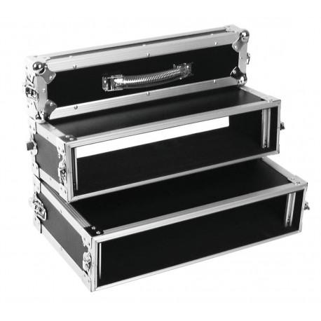 Roadinger - Double CD Player Case Tour Pro, 2U, black 1