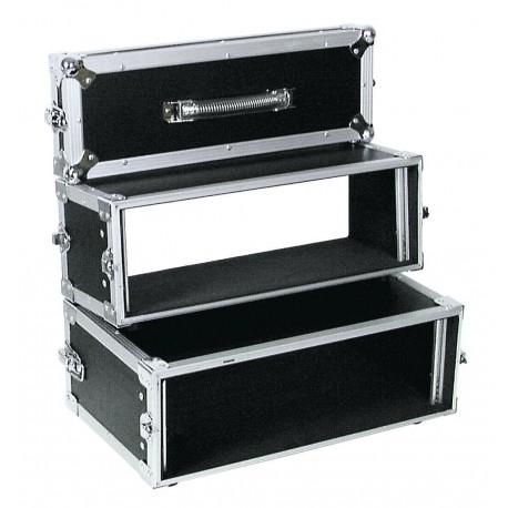 Roadinger - Double CD Player Case Tour Pro 3U black 1